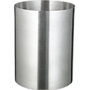 Prullenbak, aluminium, 13 l, zonder blusdeksel