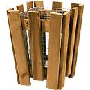 Prullenbak M8 met houten omlijsting