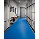 PVC badmat, 800 mm breed, blauw
