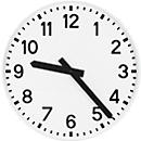 Radiografische klok, cijferwijzerplaat