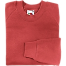 Raglan Sweatshirt, rot, XXL