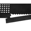 Rand voor werkplekmat Yoga Allround/Industrie®, zwart, 4 stuks