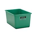 Rechthoekige container Standaard, GFK, 400 l, groen