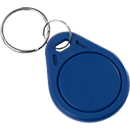 RFID-sleutelhanger, voor RFID-vergrendelingssystemen, Mifare Ultralight (13,56 MHz), blauw, 5 st.
