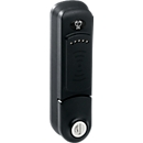 RFID-slot, af fabriek gemonteerd, 2 modi, incl. 2 x AA-batterijen, spindel 17/21 mm