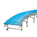 Rollenbahn drehbar, für Plattform 760x760 mm