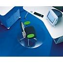 Rollsafe® bureaustoelmat, rond, Ø 600 mm