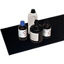 Rvs antislipmaat voor veiligheidskast Asecos V-LINE, voor legborden, zwart