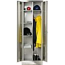 Rvs lockers B 800 mm, fitting