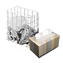 Sammelkorb klein + KLEENEX® Ultra Soft Handtücher-Box GRATIS