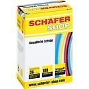 Schäfer Shop inktcartridge identiek aan LC-985BK, zwart