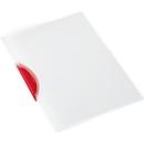 SCHÄFER SHOP klemmap Swing S, A4, PP, met clip, rood
