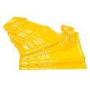 SCHÄFER SHOP Laminierfolien, 216x303 mm passend für DIN A4, 80 mic., 5 + 1 GRATIS