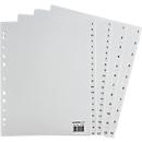SCHÄFER SHOP  PP tabbladen, grijs, type 1-10