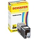 Schäfer Shop Tintenpatrone Nr. 934XL baugleich mit C2P23AE, schwarz