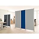 Scheidingswand, Silent Line Plus, 550 x 2000 mm, lichtgrijs