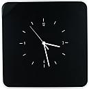 Schlüsselkasten Paperflow Multibox, mit 12 Haltern und Uhr, schwarz