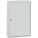 Schlüsselkasten TS64, für 64 Schlüssel, lichtgrau/lichtgrau