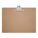 Schreibplatte MAULclassic, A3 Querformat, Nostalgieklemmer, Hartfaserholz, braun