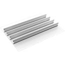 Schubladeneinsatz Treston, 4 Mittelplatten, B 900 mm, für Serie 90 mit H 750 mm