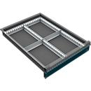 Schubladenunterteilung, 4 Fächer, 60-120 mm