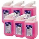 Schuimzeep Luxe Kleenex, navulling, 6 x 1 liter
