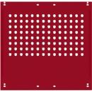 Seitenblende, f. Arbeitstische Universal Spezial/Ergo, f. Tiefe 800 mm, B 592 x H 628, rubinrot RAL 3003
