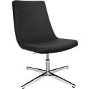 Sessel Sitness Lounge 20, drehbar, 3D-Sitness-Gelenk, Belastbarkeit bis 110 kg, ohne Armlehnen, anthrazit