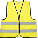 SET Warnwesten, 40teilig, neongelb, inkl. einfarbigem Werbedruck