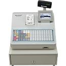 SHARP Elektronische Registrierkasse XE-A217, GoBD/GDPdU-konform, lichtgrau
