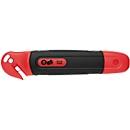 Sicherheitsmesser Wedo® Safety Cutter STANDARD, automat. Klingenrückzug, Folienschneider, Klinge für Linkshänder umsteckbar