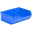 Sichtlagerkasten SSI Schäfer LF 351 ZW, Polypropylen, L 348 x B 470 x H 145 mm, 17 l, blau