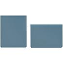 Sichttaschen, DIN A4 hoch, taubenblau, 10 Stück