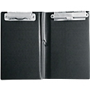 sigel® kassablokmap KC626, 120 x 180 mm, met 2 metalen klemmen en penhouder