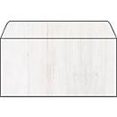 Sigel Struktur-Umschläge Holz, passend zu Strukturpapieren, DIN lang, 50 Stück