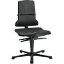 Sintec ESD-werkstoel, met glijders (zonder bekleding)