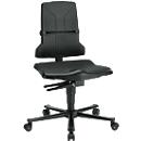 Sintec ESD-werkstoel, met wielen (zonder bekleding)