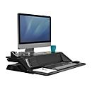 Sitz-Steh Workstation Lotus™ Stahl mit Microban-Beschichtung, schwarz