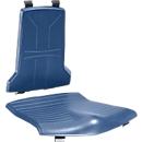 Sitzpolster für Arbeitsstuhl bimos SINTEC/SINTEC 2, auswechselbar, Integralschaum, öl- & fettbeständig, blau