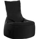 Sitzsack swing scuba®, 100% Polyester, abwaschbar, B 650 x T 900 x H 950 mm, schwarz