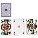 Skat-Spielkarten, mit individuellen Werberückseiten