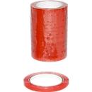Sluitband vinyl, rood, 16 rollen