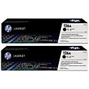 Sparpaket 2x HP LaserJet CE310AD Druckkassette schwarz