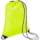 Sparset Schuhrucksack Basic, Polyester, inkl. einfarbige Werbeanbringung, 100 St., gelb
