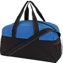 Sporttasche Fitness, schwarz/blau