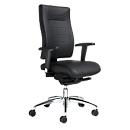 SSI PROLINE P3+ Deluxe bureaustoel, 3-D-zitwending, zonder armleuningen, zonder hoofdsteun