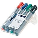 STAEDTLER flipchartmarker Lumocolor 356, diverse kleuren, set van 4