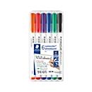 STAEDTLER whiteboardmarker Lumocolor®, 1 mm, set van 6