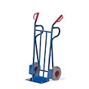 Stahlrohr-Sackkarre, Tragkraft 250 kg, Vollgummi-Bereifung