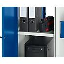 Stalen legbord voor pc-kast, 553 x 337 mm